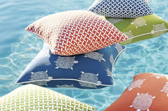 Friday Files - Summer Holiday  #season #summer #bright #fun #interior #design #fabric