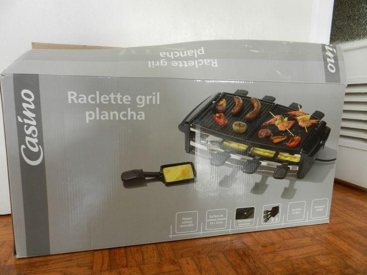 Location appareil multifonction Raclette/Grill/Plancha/Pierrade.Possède un thermostat pour régler la température de chauffe.A servi deux ou trois fois.En parfait état de marche, propre.Fourni avec les 8 caquelons. Location Appareil Raclette/Pierrade/Grill/Plancha Dijon (21000)