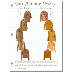 Soft Autumn Orange