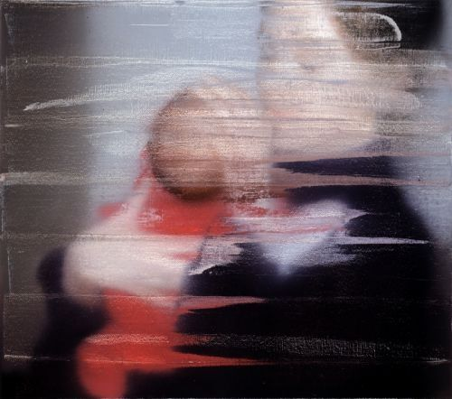 Gerhard Richter, S. et son enfant 1995, Catalogue Raisonné: 827-1 Imagen tomada de http://www.gerhard-richter.com/art/paintings/photo