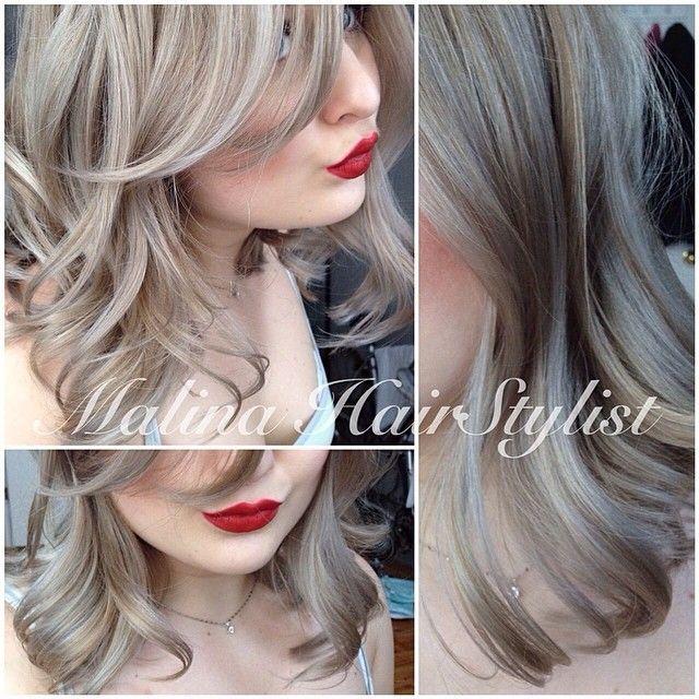 Short Dark Ash Blonde Google Search Balayage Hair