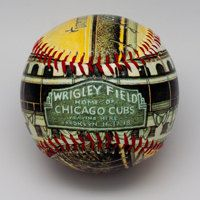 Wrigley Field Opening Day Baseball  Artistic by Unforgettaballs