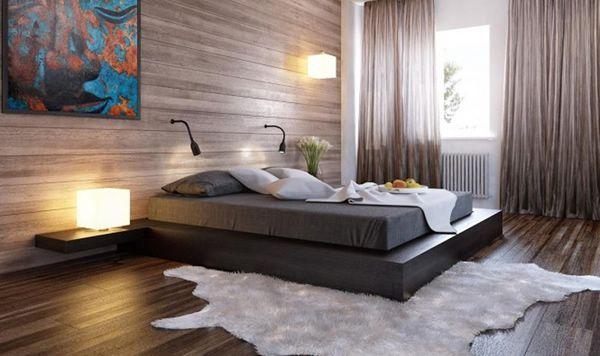 decoracion dormitorio de matrimonio cortinas