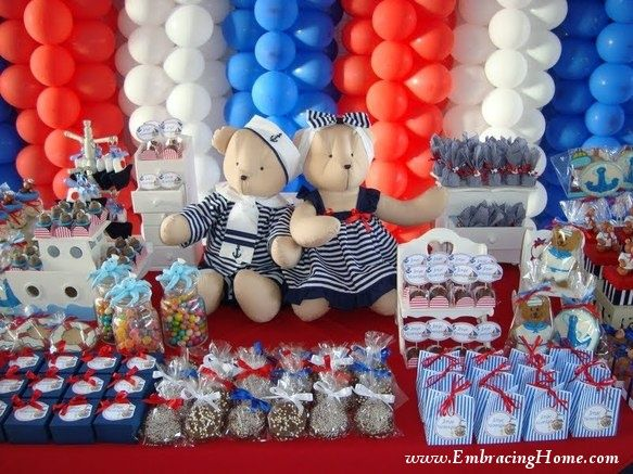 Nautical Baby Shower Decorations | Heathers Baby Shower | Pinterest | Themed  Baby Showers, Baby Showers And Baby Shower Nautical