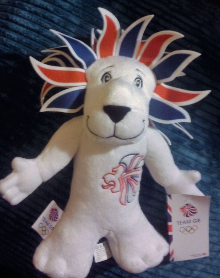 RIO 2016 OLYMPICS TEAM GB LION MASCOT PRIDE THE LION OFFICIAL MERCHANDISE BNWT  | eBay
