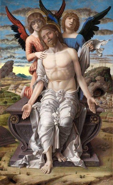 Andrea Mantegna - Christus als Schmerzensmann