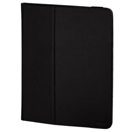 Hama 135504 Black  — 2189 руб. —  Легкий, универсальный и практичный чехол для планшета. Устройство плотно фиксируется в чехле и не выскальзывает. Плотная и прочная отделка снаружи защищает от царапин и ударов, а мягкая подкладка позволяет держать экран в чистоте.