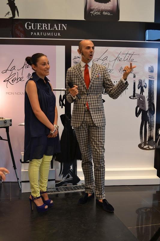 #Enzo Miccio Presents #Guerlain La Petite Robe Noire