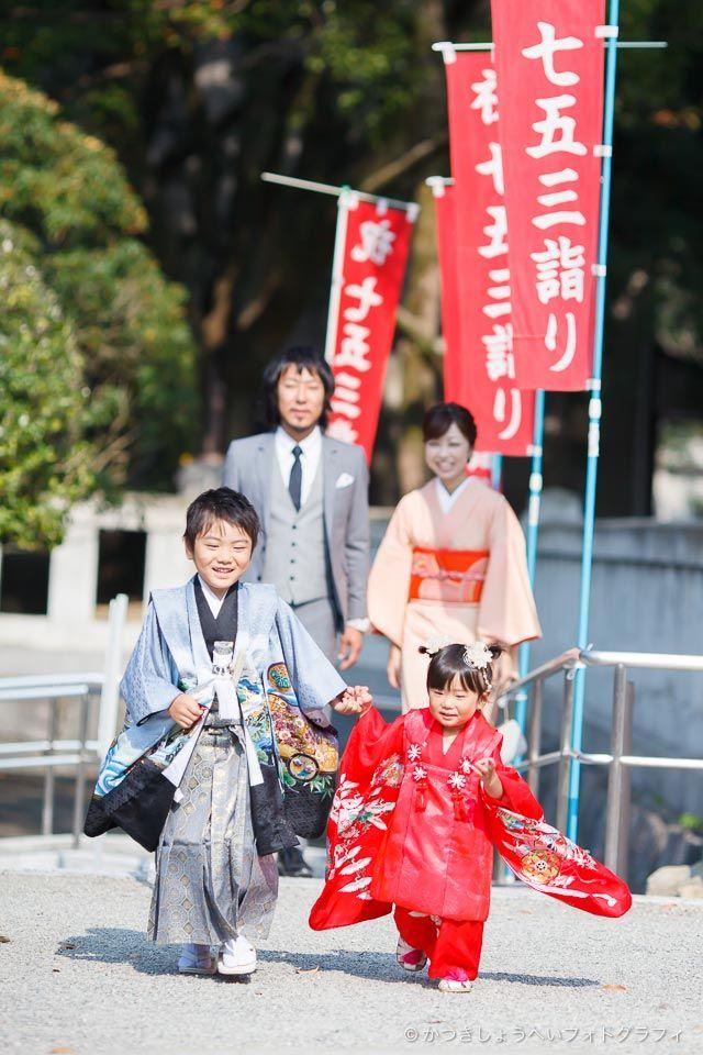 七五三・福岡県護国神社