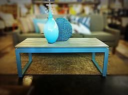 Cement Top Coffee Table/Bench : Ambassador Home