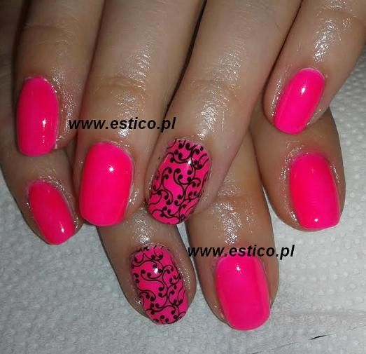uv laq, neon nails nails stamping