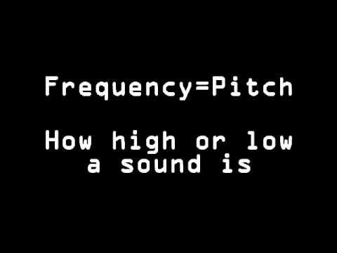The Physics of Sound Amplitude and Frequency - YouTube [Exploring creation with Chemistry and Physics Lesson 9]