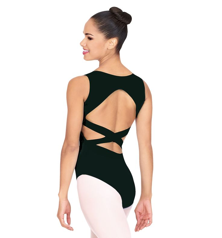 Adult Criss-cross Back Tank Leotard - Style Number: N8232 76% Polyester/24% Lycra SGD$38.26