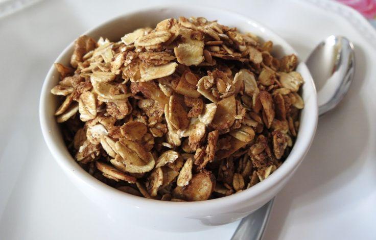 granola: Chilis Tops, Food, Granola Recipes, Healthy Honey, Honey Nut, Peanut Butter, Nut Granola