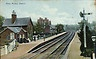 Kirby Muxloe Railway station..the train that ran behind my parents house.