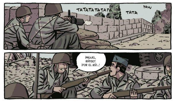 Novel·la gràfica de Paco Roca. Reconstrueix la història de La Nueve, la divisió de l'Excèrcit de la França Lliure formada per espanyols durant la Segona Guerra Mundial.