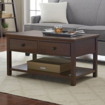 Sonoma goods for life canton coffee table kohls for Table 6 in canton