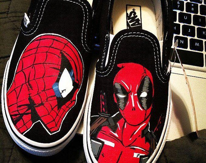 Deadpool Custom shoes Aangepaste schoenen