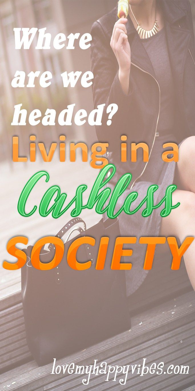 Where are we headed when so many of us depend upon credit cards and bank loans to pay our bills? Would a cashless society benefit anyone? What alternative is there? I have some ways to stay on track...  #budget #creditcards