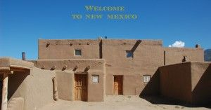 The Taos Pueblo is a UNESCO world heritage site. An amazing day trip from Santa Fe.