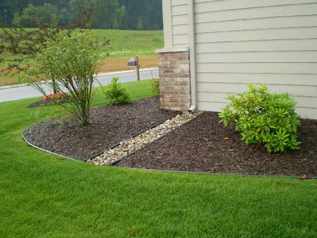 Prevent erosion plants pinterest back porches the for Drainage solutions for lawns