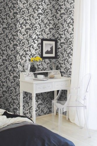 Die besten 25+ Barock tapete grau Ideen auf Pinterest Barock - graue tapete wohnzimmer