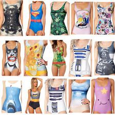 Hot Ladies Swimming Costume Swimsuits Swimwear One-Piece Beachwear One Size