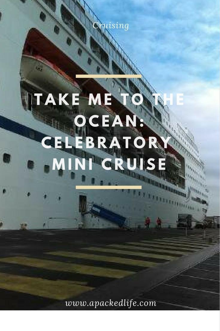 Take Me To The Ocean Celebratory Mini Cruise