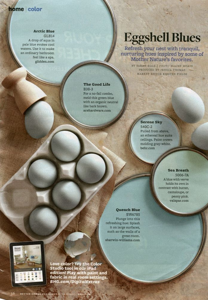 """May 2013 - """"Eggshell Blues"""" 