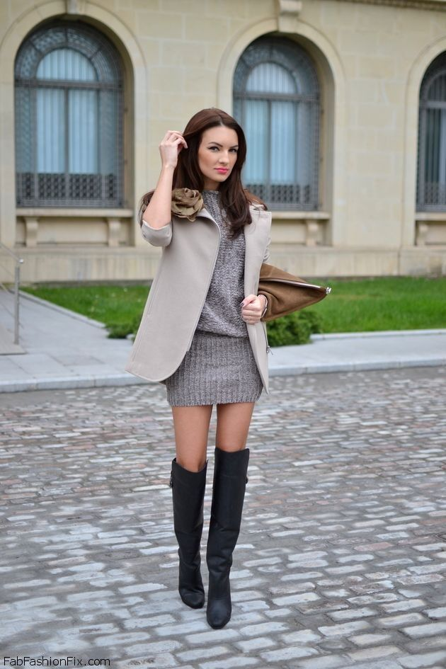 Over The Knee Boots For Fab Winter Style Clothes Accessories Pinterest Knee Boot Winter