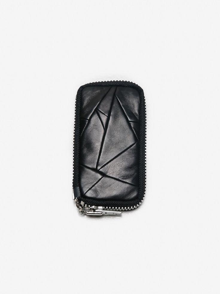 QBISM XO Case Patchwork in Black