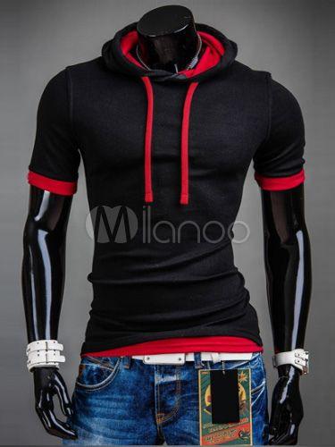 Cotton Sweatshirt - Milanoo.com