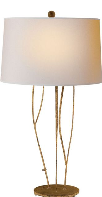 Aspen table lamp from the studio collection