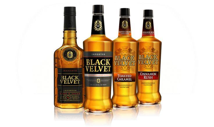 Black Velvet – smooth, Canadian whiskey » Read more @ http://www.whiskyflavour.com/blog/black-velvet/