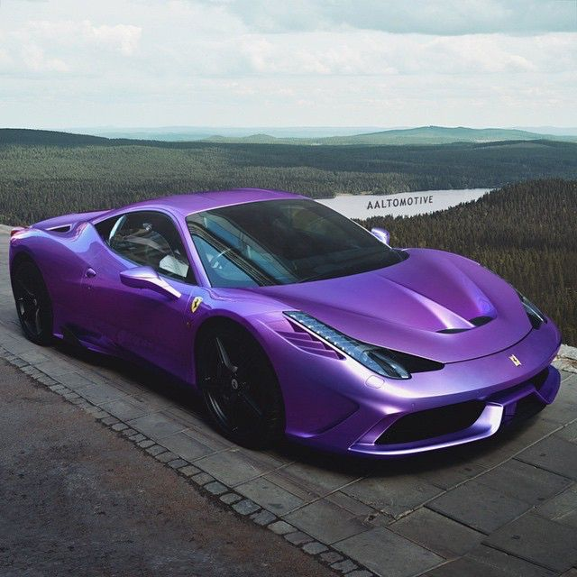 Purple Devil • Photo by @aaltomotive  #CarLifestyle