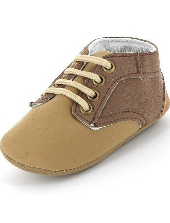Chaussures de ville beige Bébé garçon - Kiabi