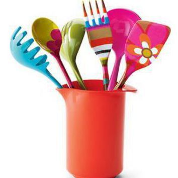 Multicoloured And Bright Kitchen Utensils Henry Watson S Funky Accessories Home