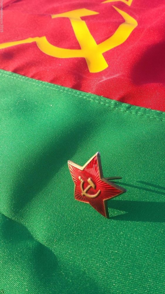 RUSSIAN BADGE WW2 Hat Badge Red Star Cap USSR Military Officer Badge Original