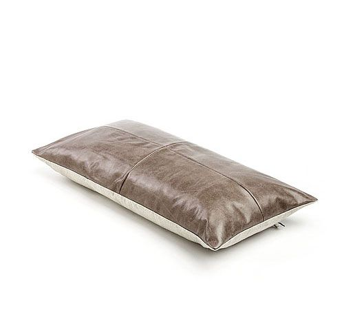 Mrs.Me home couture|leather cushion|Pavilion Hazel