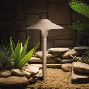 Love this...One Light Beach Path Light : 15410BE | Denney Lighting & Design...Simple style path light with Beach Sand finish. Low Voltage 12V, 16 watt bulb.