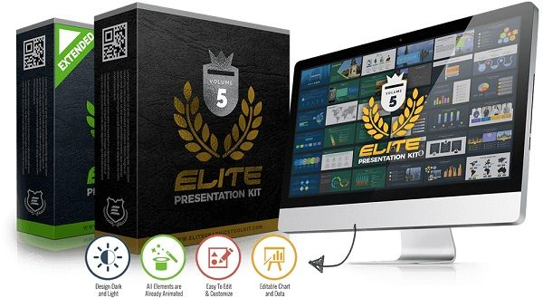 Elite Presentation Kit V5 is a set of 20 presentation templates with 400+ unique slides ready to solve your critical thing in your business in few minutes.