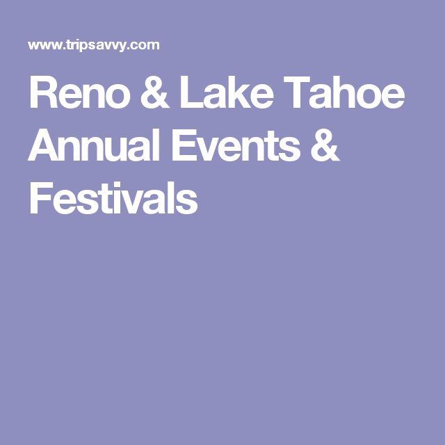 Reno & Lake Tahoe Annual Events & Festivals