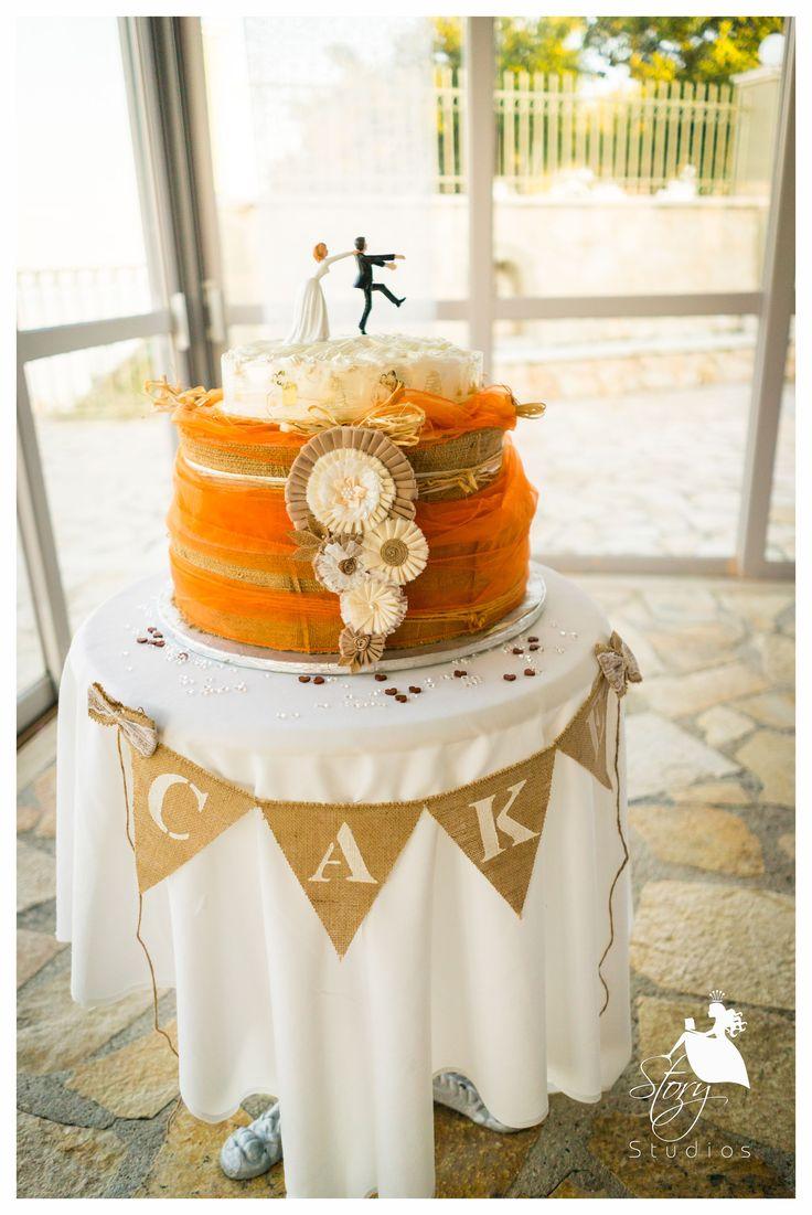 Summer wedding cake!