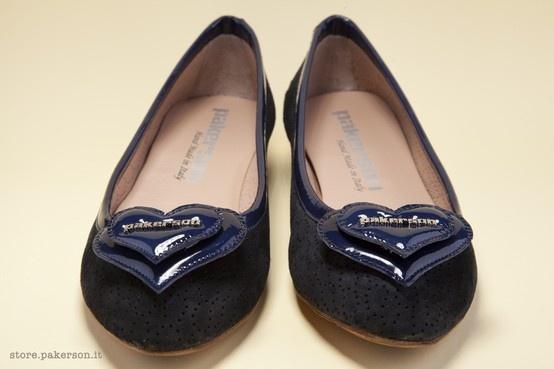 Pakerson suede leather ballerinas. - Ballerine Pakerson in camoscio. http://store.pakerson.it/ballerinas-22327-indaco.html
