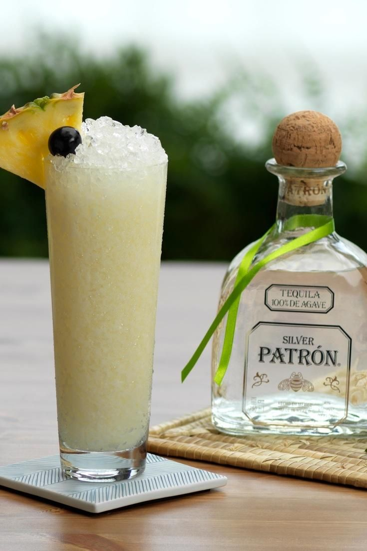 Patrón Colada - Your summer prayers have been answered: a new twist on Piña Colada.