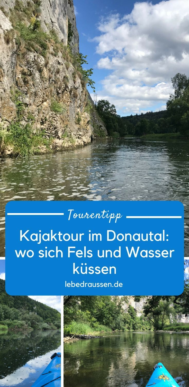Kajak Fahren Auf Der Donau Verleih In Beuron Tour Karte