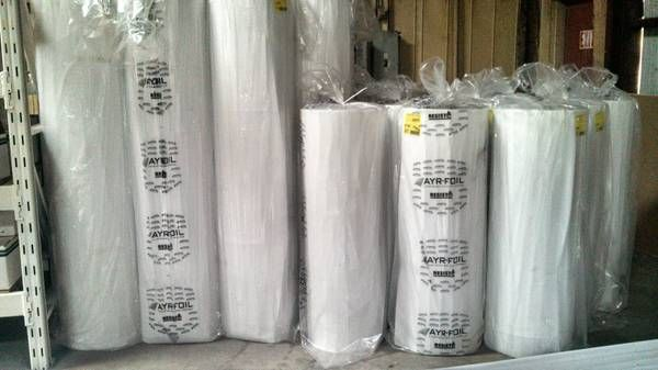 Reflective Foil Faced Bubble Insulation Great For Radiant