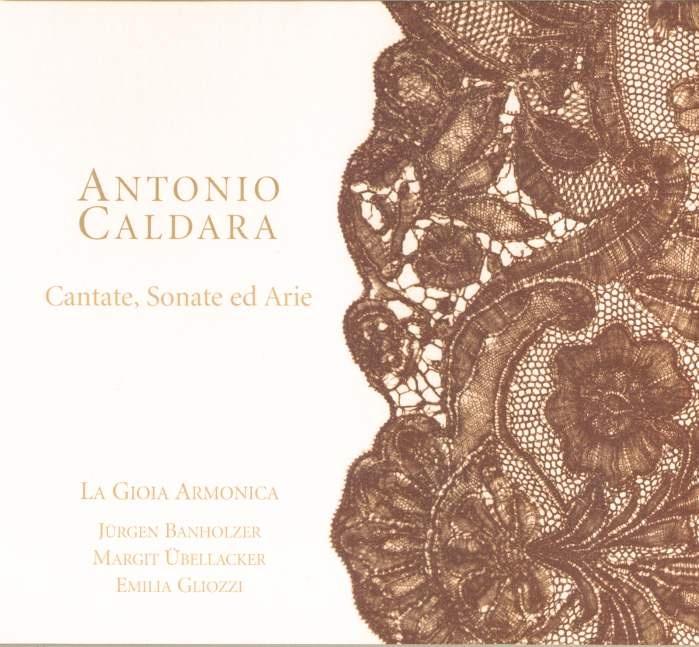 Antonio Caldara – Sinfonia for Violoncello Solo – La Gioia Armonica, Jurgen Banholzer