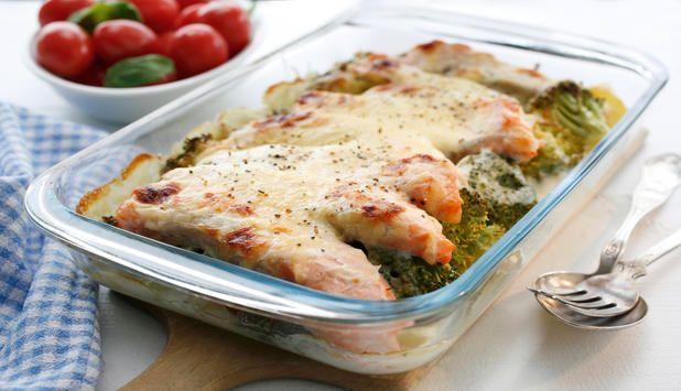 Ovnsbakte middagsretter er noe av det enkleste du kan lage. Her har du hele middagen i en form. Smak og krydder kan du variere slik kan det bli en ny rett hver uke.