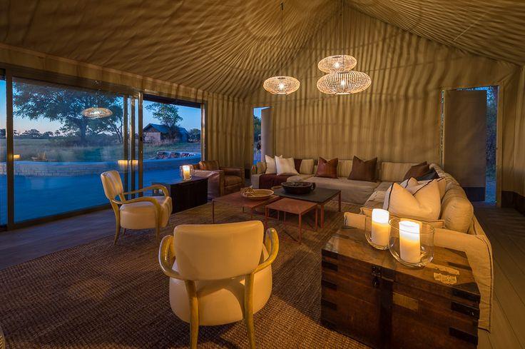 The main area lounge at Linkwasha...